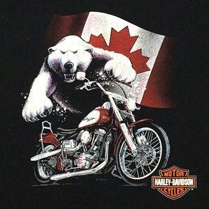 Trev Deeley Harley-Davidson CANADA T-shirt - 2XL